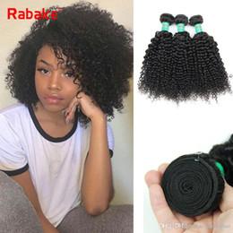 3/4 adet Malezya Sapıkça Kıvırcık İnsan Saç Paketler Rabake 100% Işlenmemiş Afro Kinky Kıvırcık Perulu Ham Hint Brezilyalı Bakire Saç Uzatma nereden işlenmemiş bakire afro insan saç uzantıları tedarikçiler