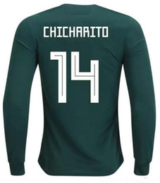 Wholesale Quality H - personalized Customized Thai Quality long sleeve 14 Chicharito J.Hernandez Soccer Jerseys ,men 11 CARLOS V 16 H. HERRERA 17 J.M.CORONA wear