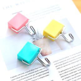 Japonês criativo super sucção livre de perfuração gancho magnético Microondas geladeira free hanging gancho ímã para DHL frete grátis de