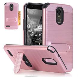 мобильные телефоны с эффектом удара Скидка Чехлы для мобильных телефонов чехлы для LG Stylo 3 Plus Hard Soft Rubber Impact Armor Case задняя гибридная Крышка для LG Stylo 3 Case Lv7 G6 Case Cover