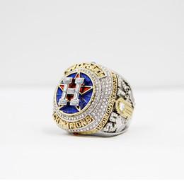 gli anelli del ventilatore Sconti I più nuovi gioielli di serie del campionato 2017 2018 Houston Astros World Baseball Championship Ring Altuve Springer Fan regalo personalizzato all'ingrosso