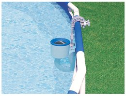 Wholesale Intex Pools - Swimming Pool Surface Skimmer Intex Deluxe Wall Mount Pool Cleaning Vacuum Equipment
