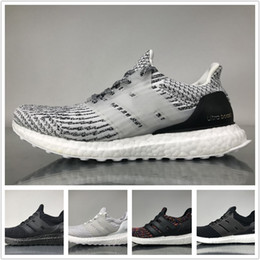 2641bc51e Ultra Boost 3.0 Running Shoes Real Boost Triple White Black Oreo Mystery  Grey LTD Multicolor Core Black Men Women UltraBoost Sports Sneakers