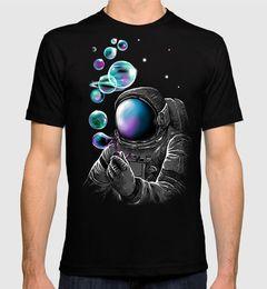 Space Soap Bubbles Cooles T-Shirt, Männer Frauen in allen Größen von Fabrikanten
