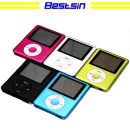 """Cartes flash e en Ligne-Bestsin 3th Slim 1.8 """"Flash LCD Lecteur MP3 Lecteur MP4 Radio FM Lecteur Tf lecteur 5 couleurs"""