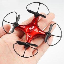 aereo remoto per i bambini Sconti Droni a quattro assi Aerocraft Super Mini Pocket UAV Bambini Giocattolo per bambini Telecomando Aeromodellismo Aeroplano Vendita calda 56bn V