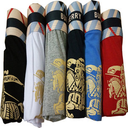 Wholesale new style underwear - Best Quality New Men Underwear Boxers Soft Cotton Breathable Letter Underpants Cotton Man Sexy Underpants Boxers Men Underwear Styles