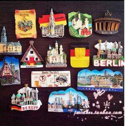 Souvenir europei online-Europa Monaco di Baviera Germania Berlino Turismo Scenario Memoriale Frigorifero Magnete 3D Fridge Magnet Sticker Viaggi Souvenir Decorazione