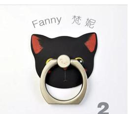 симпатичный корейский мобильный телефон Скидка Держатель мобильного телефона, корейская милая творческая кнопка кольца всеобщая поддержка кота