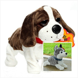 Wholesale Toy Robot Dog Pet - Electronic Toys Dog For Children ChristmasSound Control Electronic Dogs Interactive Pets Robot Dog Bark Stand Walk