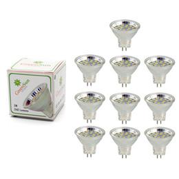 Wholesale Led Gu4 - GreenSun 10Pcs Set 2.5W 3W MR11 Led Spotlight GU4 LED Bulb 2835 SMD Lamp Energy Saving Spot Light Bulb Cool White Warm White