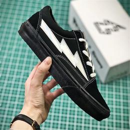 Wholesale camping stores - Vans Revenge x Storm Pop-up Store MEN'S WOWEN'S Skateboarding Shoes Unisex Sports canvas Shoes Sneakers 35-44