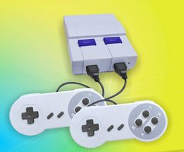 Wholesale Free Games Box - Mini Game Console Video Handheld for SNES games consoles with retail box free shipping