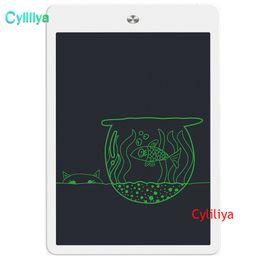 2019 sottile compressa bianca Tavoletta da disegno digitale da 10 pollici con tavoletta elettronica per scrittura digitale LCD
