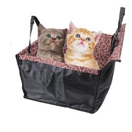 Wholesale pet seat protector - new hot Original Pet Dog Cat Car Rear Back Seat Carrier Cover Pet Dog Mat Blanket Cover Mat Hammock Cushion Protector