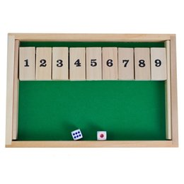 Wholesale Numbers Puzzle - Puzzle Game Play Wooden Number Flop Interesting Intelligence Toys Suit Two People For Drinkers Games With Dice High Quality 11yh Z