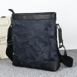 Nuovo arriva il 2017 Camouflag Sacchetto degli uomini Moda Uomo Messenger Bag di alta qualità Maschio Vintage Crossbody spalla da