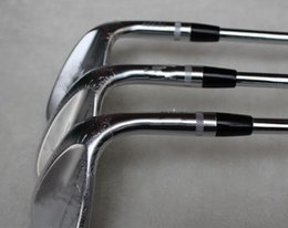 Wholesale wedge set 54 58 - top quality golf wedge SM6 SM7 wedges steel silver 50 52 54 56 58 60 degree club clubs gride sets Steel shaft