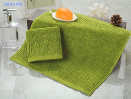 Wholesale Quality Kitchen Towels - 2pc lot High quality 100% cotton 35*35cm Kids towel Kitchen bathroom Hand Towel Quick-Dry Home Textiles household items