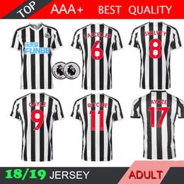 0bc1b2c16 2018 2019 AYOZE RONDON 18 19 Newcastle United soccer Jersey Home LASCELLES  MURPHY SHELVEY DIAME KENEDY Camisetas de visitante Camiseta de fútbol  RITCHIE