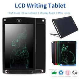 2019 optischer maussensor mini LCD Schreiben Tablet Digital Digital Portable 8,5 Zoll Zeichnung Tablet Handschrift Pads Elektronische Tablet Board für Erwachsene Kinder