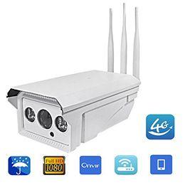 Canada 3G 4G Industriel Pro Full HD 1080 P Zoom Bullet IP Caméra Sans Fil GSM SIM Carte Nuit Vision CMOS IP Caméra Wifi Extérieur Caméra Sans Fil Offre