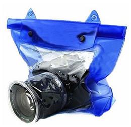 Kamera zum tauchen online-Neue professionelle Kamera Wasserdichte Tasche Tauchen Taschen Regenschutz Wasserdicht für Kameras Zubehör Heißer Verkauf 9tt Y
