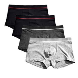 low rise trunk underwear Coupons - Mens Stretchy Cotton Underwear Boxer Shorts Sexy Breathable Low Rise Soft Trunk