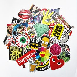 Wholesale Sticker Bombing Mirrors - 200 Car Styling JDM decal Stickers for Graffiti Car Covers Skateboard Snowboard Motorcycle Bike Laptop Sticker Bomb Accessories