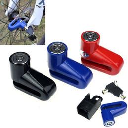 partes de honda envío gratis Rebajas Cerradura antirrobo del rotor del freno de disco para la cerradura de la seguridad de la motocicleta de la bici de la vespa