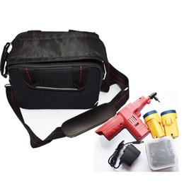 goupilles de serrure de porte Promotion Nouvelle arrivée 2018 électronique Bump Gun Lock Pick Tool pour Kaba Lock porte avec 45 broches têtes 2 batteries beau sac de serrurier outils