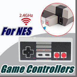 Wholesale Button Gamepad - DHL Wireless USB Plug and Play Gaming Controller Gamepad for NES Mini Buttons Classic Edition With Wrireless Receiver B-SYP