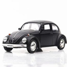Vw modelli di auto online-1:32 VW Beetle Diecast Alloy Model Pull Back Car Raccolta di regali