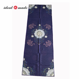 """Idealmade 183*61cm 72""""*24"""" Microfiber Quick Drying Yoga Towels Sports Accessories with conner holder"""