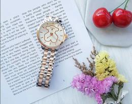 Wholesale female bears - Reloj Mujer Casual Women Watch BEAR Steel Ladies Watch Women Luxury Quartz Wristwatch Waterproof Female Clock New Table Hour
