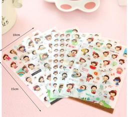 Dekorativer Aufkleber des transparenten Tagebuches des Karikaturbienen-Mädchenaufklebers wasserdichtes PVC von Fabrikanten