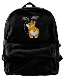 6cfc0500b419 Love Corgi Butt Dog Lover For Men   Women Fashion Canvas Backpack Travel bag  School bag rucksack duffle bags designer handbags