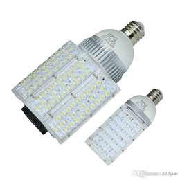 Wholesale E27 Ac Dc 12v - 28w 30w 40w 50w 60w 80w 100w Led corn bulbs Garden Road Lighting CREE E40 E27 LED Street Light AC 85-265V   DC 12-24V