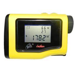 ahd tester Rebajas Telémetro 600 m LCD altura medida ángulo láser distancia dispositivo digital nivel de medición área de instrumento círculo rectangular G600