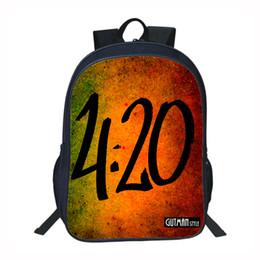 2a4afc626244 Children School Backpack for Teenager Boys Girls Schoolbag Ideal School Cool  420 Time Fasion for Gangsters