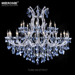 lustres maria theresa Promotion Luminaire de lustre en cristal Luminaire Maria Theresa Suspension Grand Lustres Restaurant Salon Lustre Luminaires Éclairage