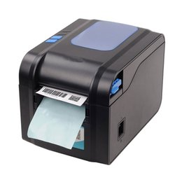 Wholesale Barcode Printer Thermal - 152mm s speed Thermal barcode printer Label printer Qr code can print 20mm-82mm width paper