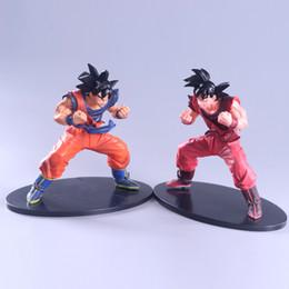Wholesale Goku 14 - 17cm Dragon Ball FES Son Goku PVC Action Figure Model Toy Dragon Ball Z Action Figure