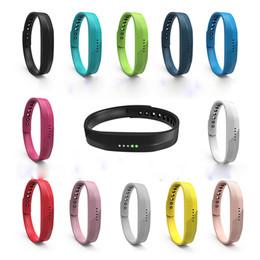 браслеты Скидка Новый мягкий спортивный силиконовый ремешок ремешок для часов для Fitbit Flex 2 All-Day Activity Smart Track фитнес-браслет OTH263