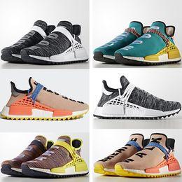 "Wholesale Cc Cotton - Wholesale NMD Human Race Trail Runner Shoes,Shop Pharrell Williams ""Human Race"" nmds 2018 CC Nerd Cloud Mood For Men Women Hu Sneakers"