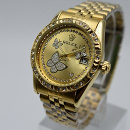 Wholesale flower clocks - Women's Watches Fashion Flowers Bracelet Watch Women Watches Luxury Crystal Ladies Watch Clock relogio feminino reloj mujer saat
