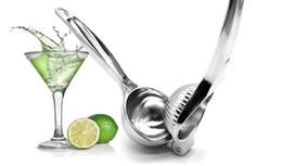 Wholesale Hand Citrus Juicer Stainless Steel - Stainless Steel Hand Press Lemon Squeezer Juicer Orange Citrus Press Juice Fruit Lime Kitchen Bar Tools Hand Press Squeeze Juice Tool