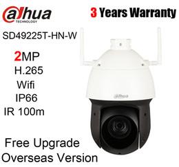 Dahua Caméra réseau Wi-Fi PTMA d'origine SD49225T-HN-W 2MP H.265 IR 100m IP66 Starlight IR avec logo sans support POE ? partir de fabricateur