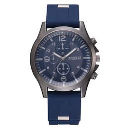 Пластиковые часы мужские онлайн-New Stainless steel men's watch 1pcs Men Business Watch Plastic Strap Sports Fashion Simulated Quartz relojes A80