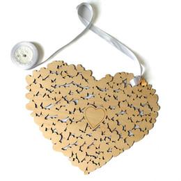 2018 Yeni Ahşap Kalp Şekilli Düğün Ziyaretçi Defteri Alternatif Asılı Kalp Düğün Ziyaretçi Defteri Düğün Süslemeleri nereden